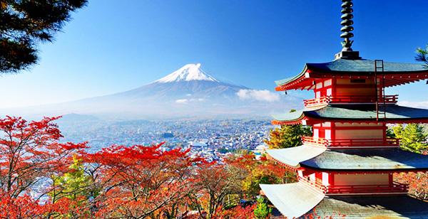 du lịch Nhật Bản cuối năm