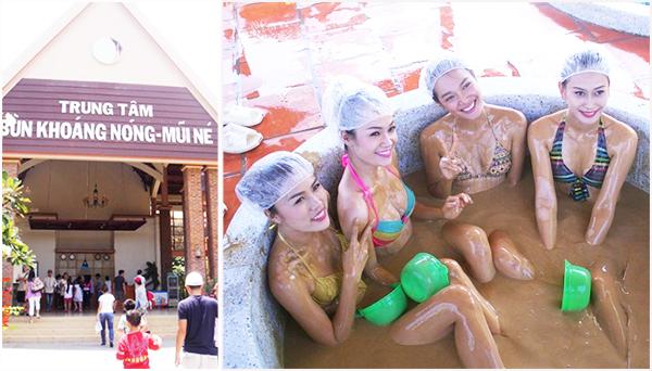 tắm bùn khoáng tại Mũi Né
