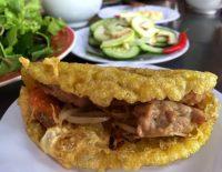 Bánh khoái Thượng Tứ ngon lành và hấp dẫn – Ảnh: THỦY OCG