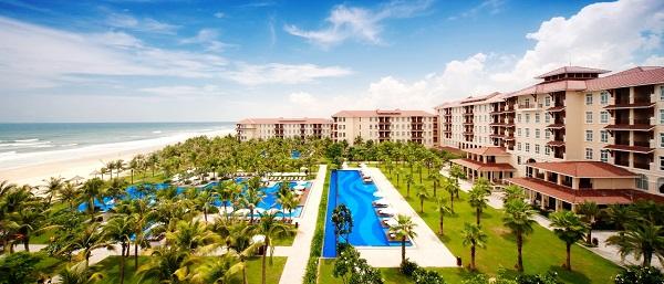 Đà Nẵng với rất nhiều resort, khách sạn đẹp.