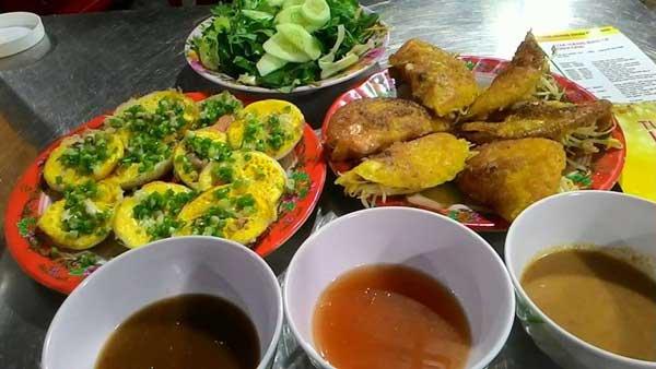 Bánh căn bánh xèo Ninh Thuận
