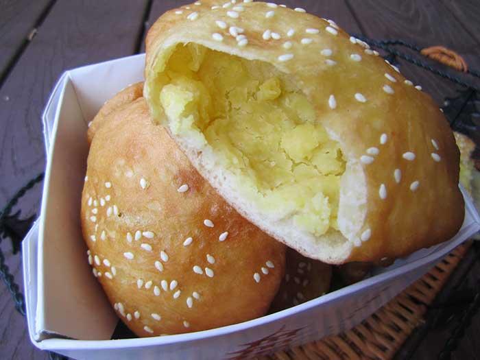 Bánh tiêu đậu xanh